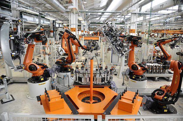 A área exclusiva para produção do up! contempla uma nova geração de 296 robôs de alta precisão e tecnologias como solda a laser, sistemas de medição de conjuntos soldados e monitoramento dos pontos de solda. (Foto: Divulgação)