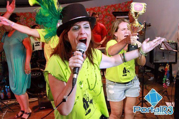 Luciana Morais, interprete de Uma Bem Gelada, marchinha campeã do Festival 2014. (Foto: Fernando Noronha/PortalR3)