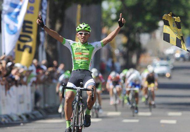 Juan Sebastian Tamayo vence a 2ª etapa para São José dos Campos. (Foto: divulgação/FPC)
