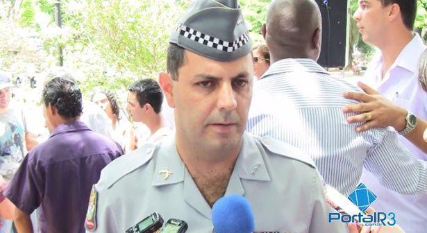 Capitão Cavalheiro, comandante da Polícia Militar em Pindamonhangaba. (Foto: PortalR3)