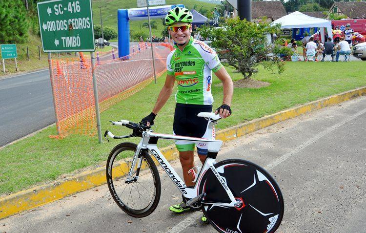 Atleta de São José dos Campos, Carlos Manarelli, é bicampeão da Hans Fischer. (Foto: divulgação)
