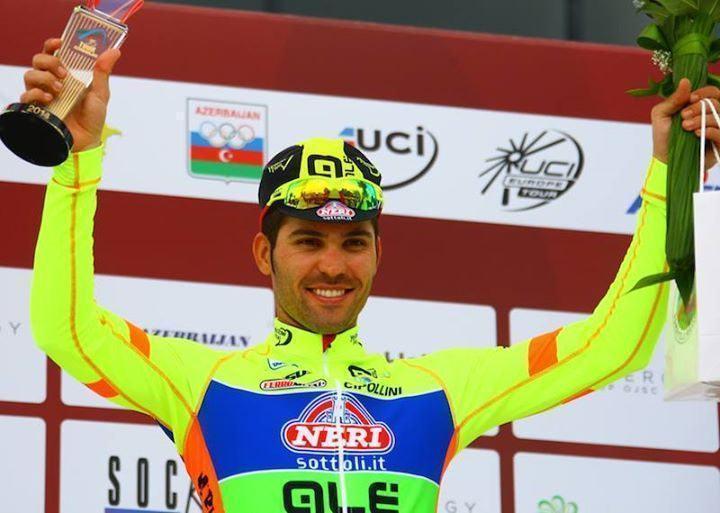 Rafael Andriato comemora terceiro lugar na 2ª etapa da competição. (Foto: Neri S