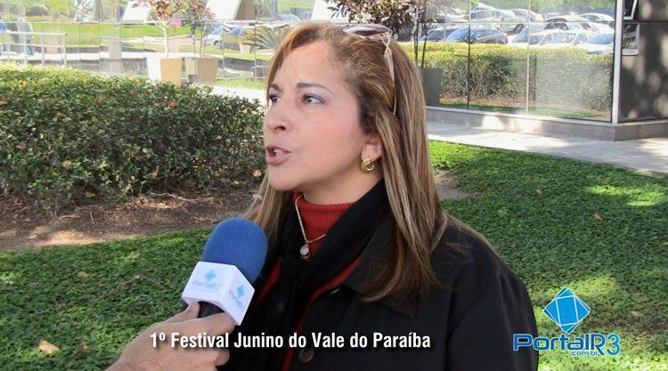 Gislene Cardoso, diretora de Turismo de Pindamonhangaba, contou detalhes sobre o festival à reportagem do PortalR3. (Foto: PortalR3)