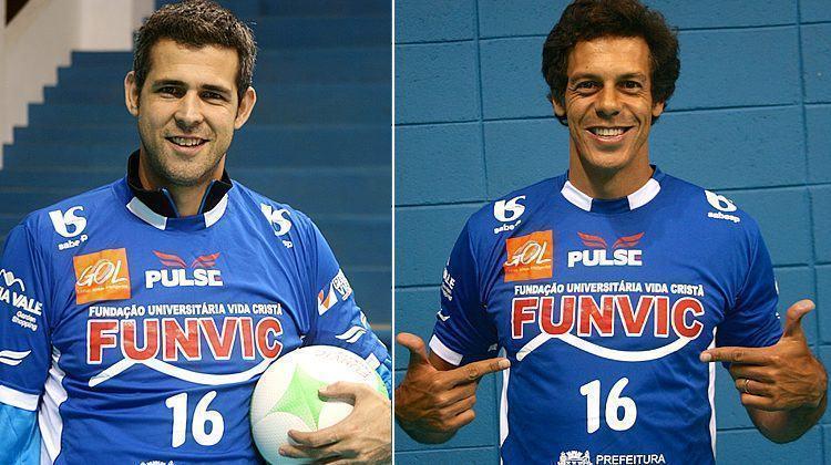 O campeão olímpico Dante (ponta) e o oposto Lorena estão entre as novidades da temporada. (Foto: Douglas Castilho/Top 10 Comunicação)