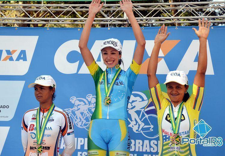Pódio feminino. (Foto: Luis Claudio Antunes/PortalR3)