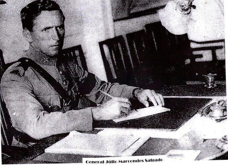 General Júlio Salgado. (Foto: reprodução)