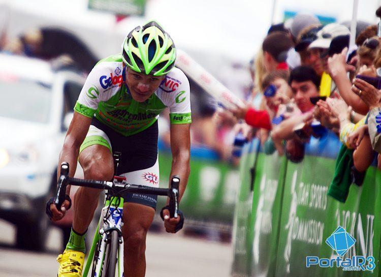 Diniz foi o melhor brasileiro na sexta etapa, cruzando a linha em 15º lugar. (Foto: Luis Claudio Antunes/PortalR3)