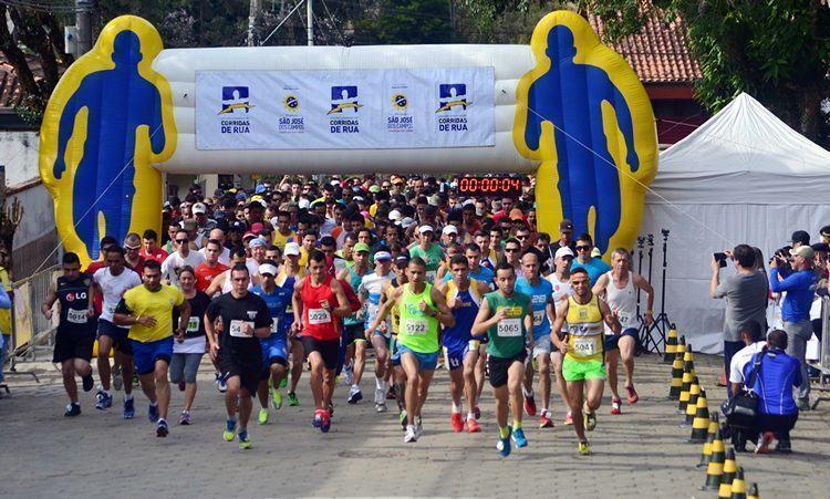 Muitos corredores marcaram presença no evento em São Francisco Xavier. (Foto: Tião Martins/PortalR3)