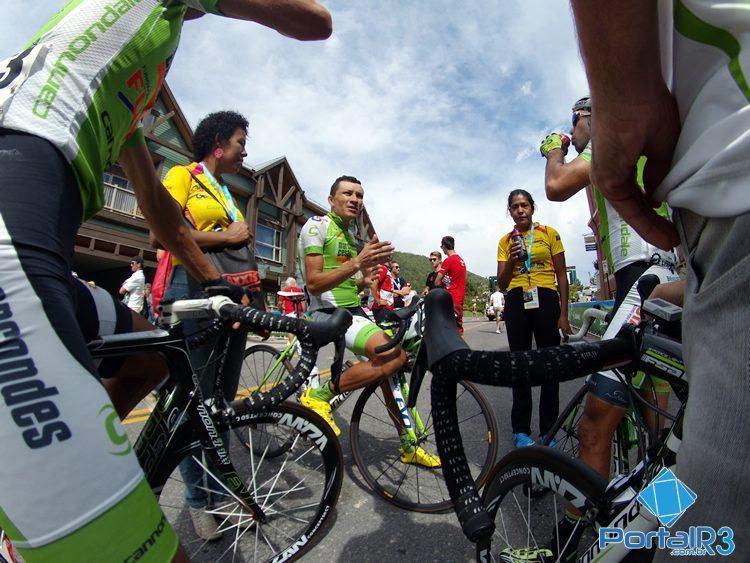 Atletas de São José dos Campos se despedem do Tour of Utah. (Foto: Luis Claudio Antunes/PortalR3)