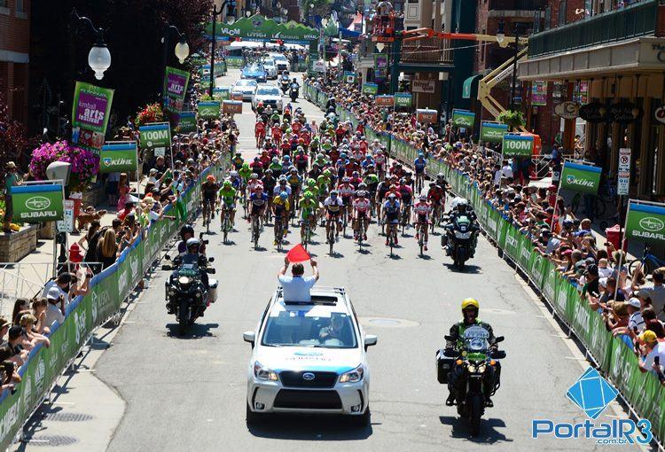 Largada da última etapa em Park City. (Foto: Luis Claudio Antunes/PortalR3)