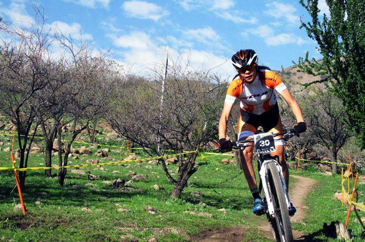 Com a vitória, a ciclista somou mais 30 pontos no ranking mundial.  (Foto: Marcelo Jardim/Divulgação)