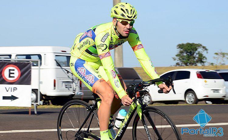 Rafael Andriato venceu a 2ª etapa com chegada em Volta Redonda. (Foto: Luis Claudio Antunes/PortalR3)