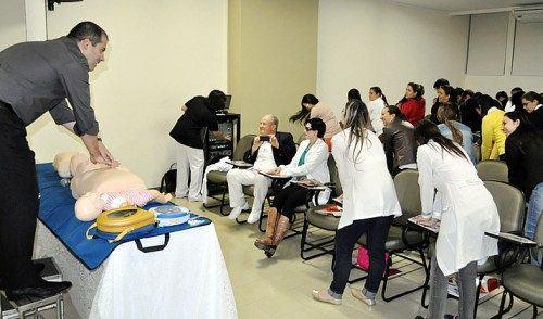 HR realiza aula sobre Primeiros Socorros e dinâmica de reanimação