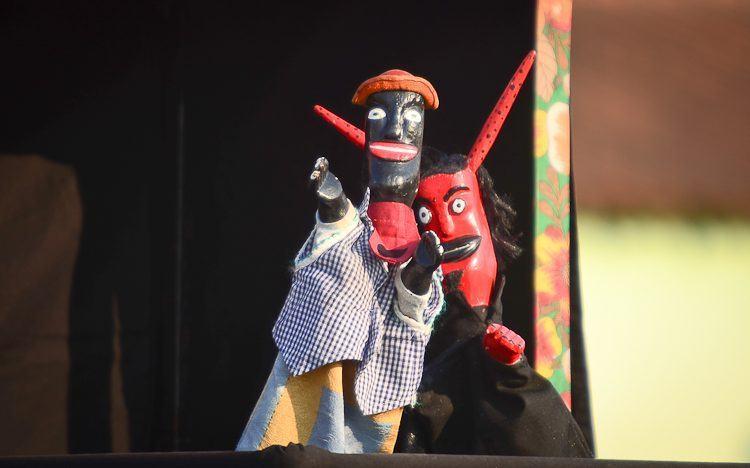 Personagens do espetáculo. (Foto: Luis Claudio Antunes/PortalR3)