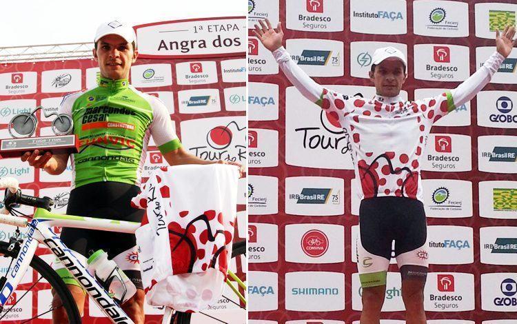 Kleber Ramos subiu ao pódio em três das seis etapas do Tour do Rio, conquistando o 3º lugar na geral e ainda foi o campeão de montanha. (Foto: Ciclismo SJC)
