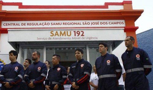 SAMU 192 começa a funcionar em São José dos Campos