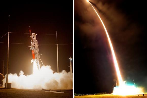 O primeiro foguete brasileiro com propulsor a etanol foi lançado em Alcântara. (Foto: Aeronáutica/Divulgação)