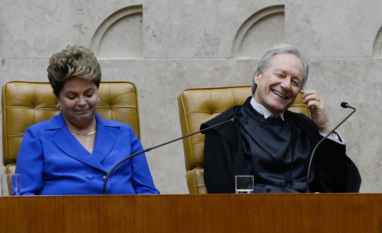 Cerimônia de posse do ministro Ricardo Lewandowski na presidência do STF. (Valter Campanato/Agência Brasil)