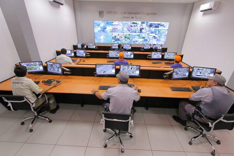 Centro de Operações Integradas foi inaugurado no final de junho em Taubaté. (Foto: Divulgação/PMT)