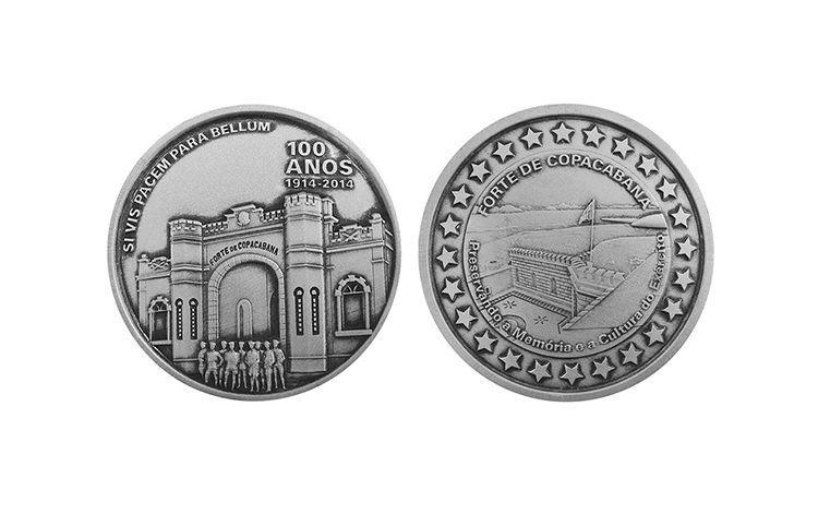 Cada uma das de bronze custa R$ 70, enquanto o valor das de prata é R$ 330, e o das de ouro, R$ 23.266. (Foto: Divulgação/Casa da Moeda)