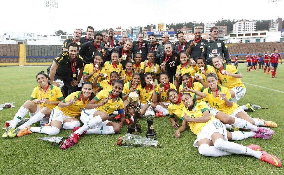 Os títulos foram conquistados nos anos de 1991, 1995, 1998, 2003, 2010 e 2014. Foto: Divulgação/Assessoria CBF)