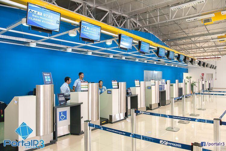 Azul é a única empresa é a única que opera atualmente em São José dos Campos. (Foto: Fernando Noronha/PortalR3)
