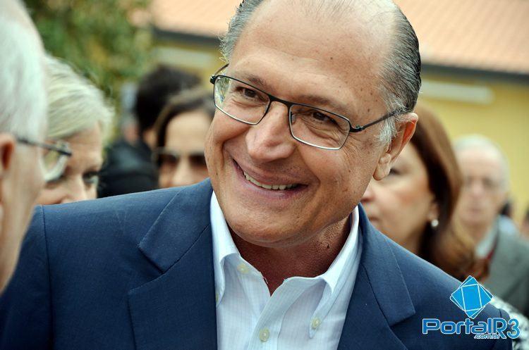 Geraldo Alckmin é reeleito em SP. (Foto: Luis Claudio Antunes/Arquivo PortalR3)
