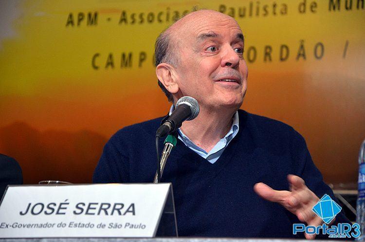 José Serra. (Foto: Luis Claudio Antunes/Arquivo PortalR3)