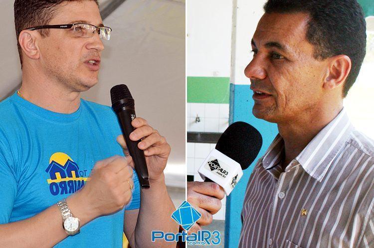 Dr. Isael, candidato a deputado Federal (esq.) e Casé, candidato a Estadual, foram os mais votados em Pindamonhangaba. (Foto: Arquivo/PortalR3)