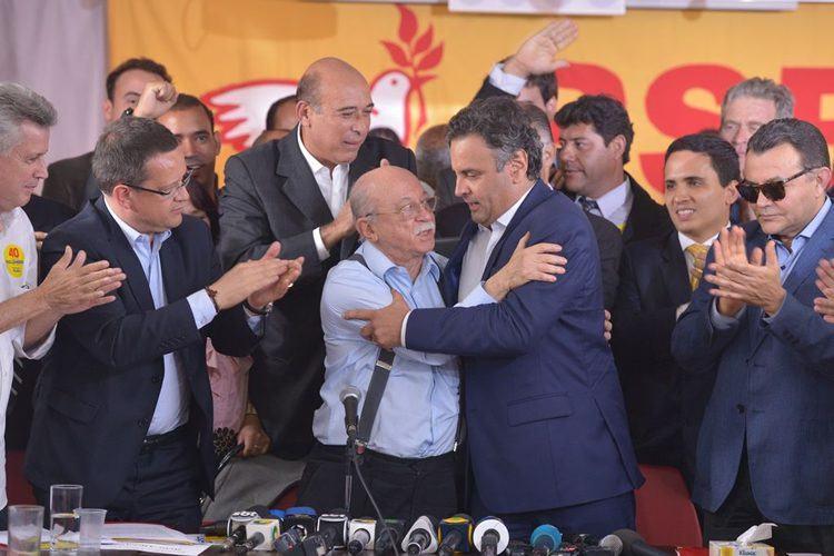 A Executiva Nacional do PSB decidiu apoiar a candidatura de Aécio Neves (PSDB) para a Presidência da República, no segundo turno. (Foto: Valter Campanato/Agência Brasil)