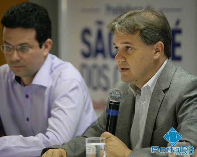 O prefeito de São José dos Campos, destacou a importância do novo sistema e disse que ele faz parte do plano de mobilidade para a cidade. (Foto: Fernando Noronha/PortalR3)