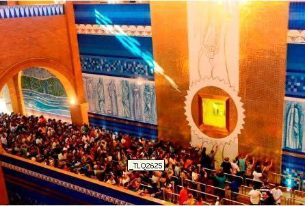 Os quase 200 mil peregrinos de todas as partes do Brasil que estiveram na Festa da Padroeira deste ano puderam participar da Missa Solene às 9h e de mais cinco celebrações durante todo o dia. (Foto: Tiago Leon/Santuário Nacional)