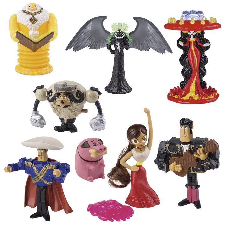 Oito brinquedos da nova animação da Fox Films estarão disponíveis no McLanche Feliz. (Foto: Divulgação)