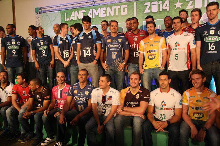 Lançamento da competição aconteceu na terça-feira (21) em São Paulo. (Foto: Alexandre Arruda/CBV)