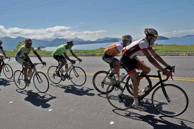 Prova acontece na rodovia entre Ubatuba e Paraty. Local e muito movimentado nos finais de semana. (Foto: Ivan Storti/FPCiclismo)
