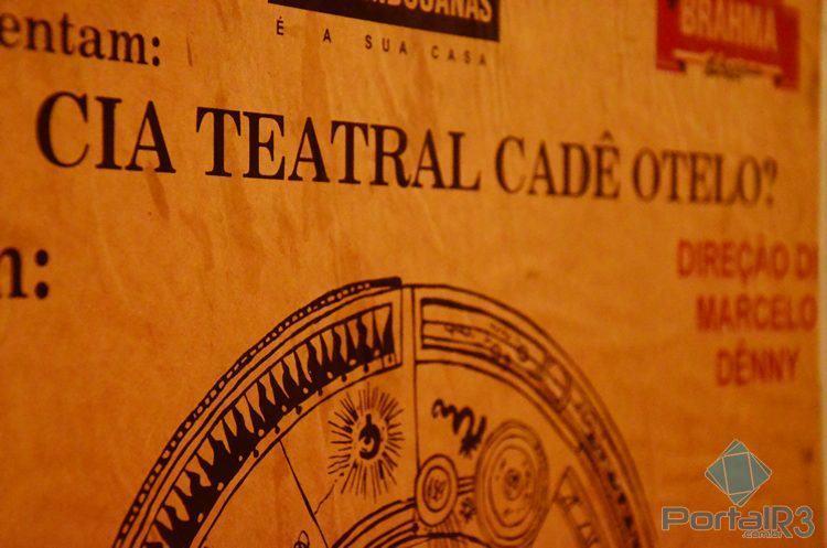 """Público poderá observar vários objetos utilizados pela Cia no espetáculo """"A Barca do Inferno"""". (Foto: Luis Claudio Antunes/PortalR3)"""