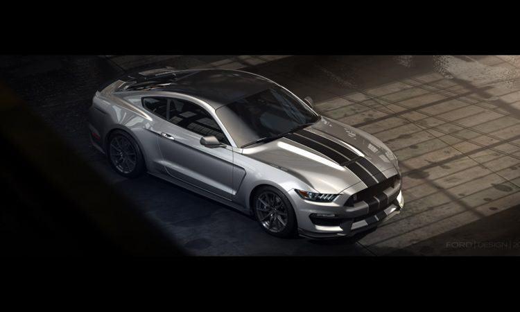 novo Mustang Shelby GT350 traz o motor de produção Ford naturalmente aspirado mais potente de todos os tempos. (Foto: divulgação/Ford)