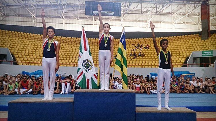 Rodrigo Bordão sagrou-se campeão nacional da categoria infantil e Guilherme Maia foi vice na mesma categoria. (Foto: Divulgação)