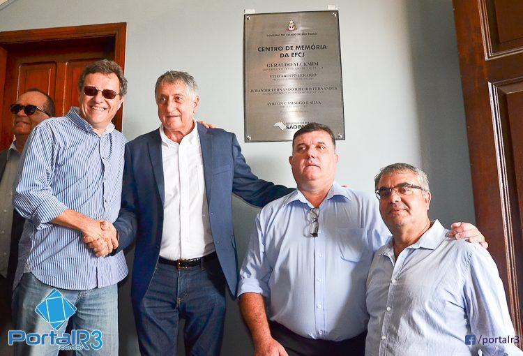 Centro de Memória foi inaugurado em Pindamonhangaba. (Foto: Luis Claudio Antunes/PortalR3)