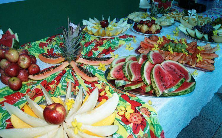 'Thanksgiving' foi comemorado em todas as escolas de Ilhabela em 2013. (Foto: Vanessa de Paula/PMI)