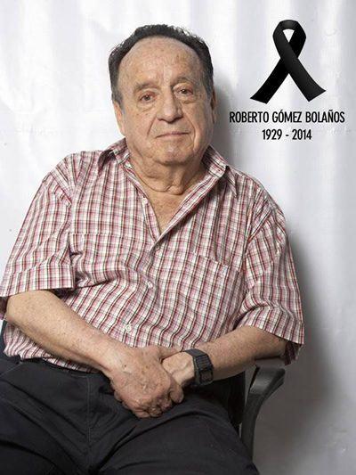 Roberto Gómez Bolaños -   1929/2014. (Foto: reprodução/Facebook/Chavo del 8)