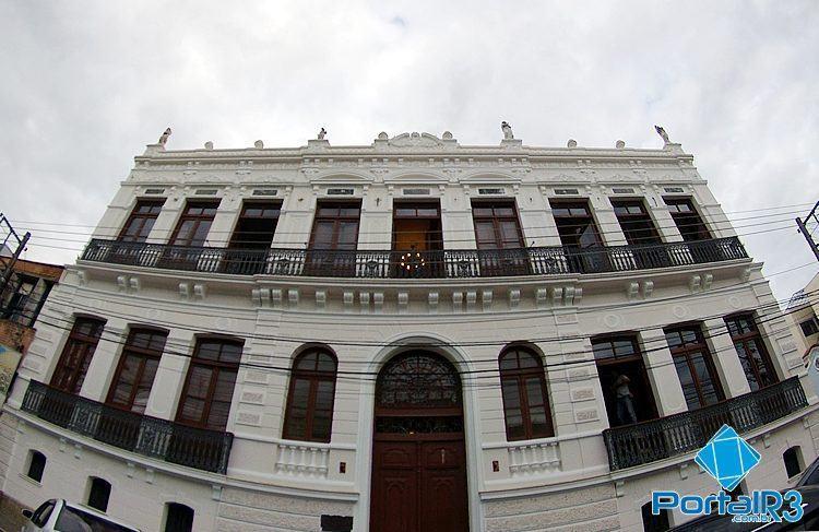 Vista do Palacete, já restaurado. (Foto: Luis Claudio Antunes/PortalR3)