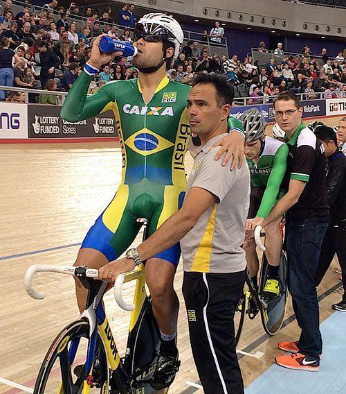 Gideoni Monteiro foi o grande destaque do Brasil. (Foto: Divulgaçãao/CBC)