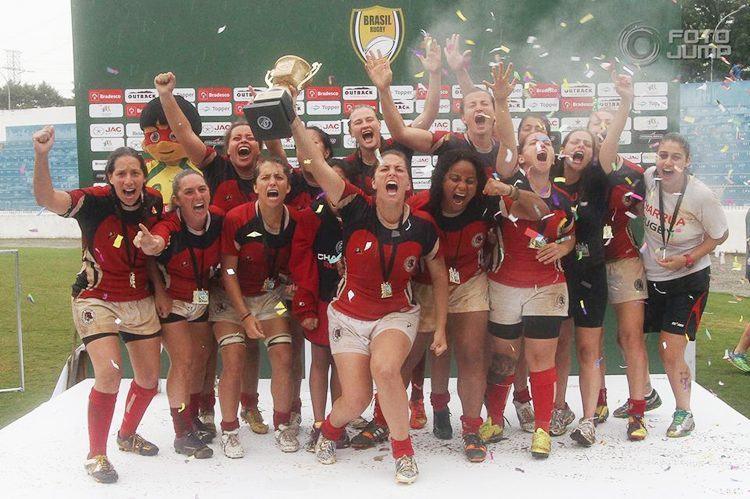 Equipe gaúcha Charrua foi campeã no feminino. (Foto: FotoJump)