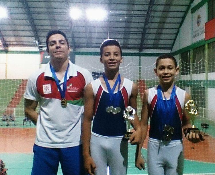 Os ginastas de Pinda conquistaram excelentes resultados. (Foto: Divulgação)