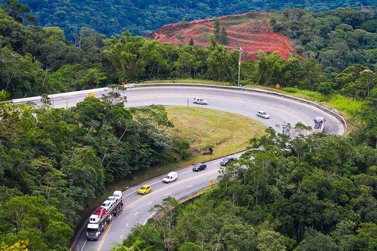 A duplicação da Rodovia dos Tamoios vai beneficiar mais de 25 milhões de pessoas. (Foto: Gilberto Marques)