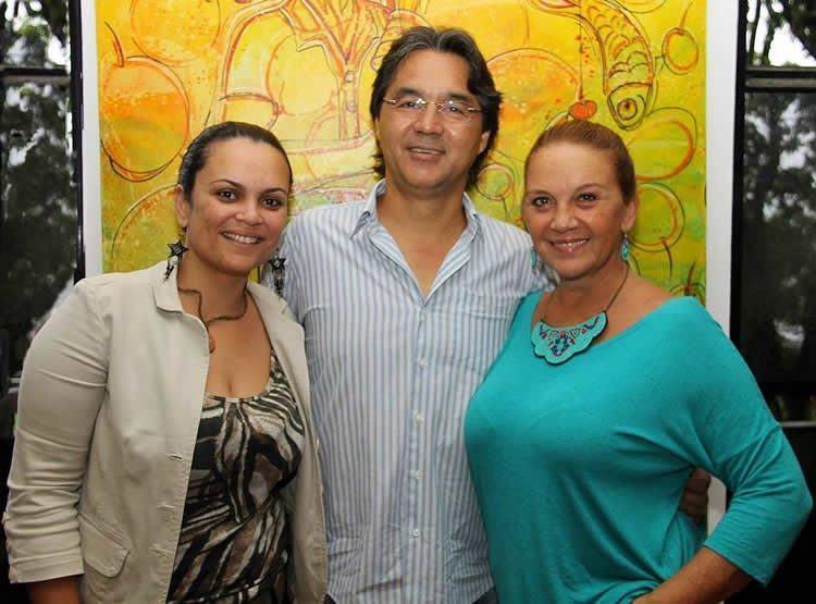 Isabela, Mauricio, Cristina . (Foto: Divulgação/PMU)