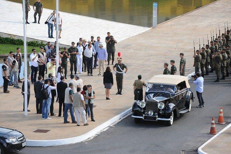 Homens das Forças Armadas também participaram do ensaio. (Foto: Elza Fiúza/Agência Brasil)