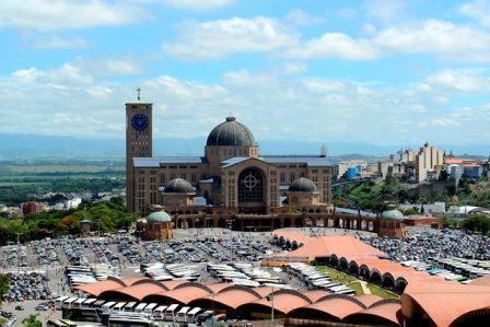 Com 12 milhões de visitantes, Santuário supera a marca atingida em 2013 e supera também as expectativas de 2014. (Foto: Thiago Leon/Santuário de Aparecida)