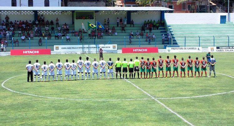 Em janeiro de 2014, Ilhabela recebeu sete jogos da Copinha, sempre com ótimo público no Estádio Municipal, no Itaquanduba. (Foto: Ronald Kraag/PMI)